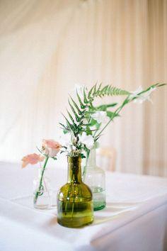 fougere dans vase mariage decoration florale
