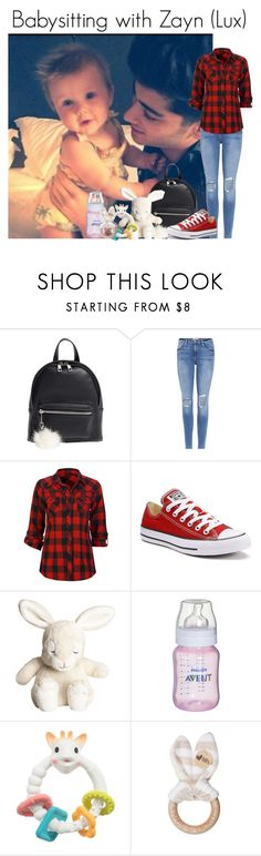 """Babysitting with Zayn and Me (Lux)"" by louise-smiths ❤ liked on Polyvore featuring BP., Frame, Full Tilt, Converse and H&M"