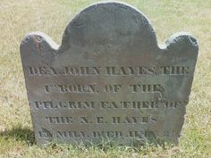My Maine Ancestry: Surname Saturday - John Hayes of Dover