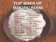 15 Benefits of baking soda- Baking soda is a commonly available mineral full of many cleaning attributes, it is one items no home should be without. It has a surprising number of things you can use it for, here are the top 10 uses of baking soda: Baking Soda Bath, Baking Soda Shampoo, Baking Soda Uses, Healthy Tips, How To Stay Healthy, Healthy Foods, Bath Benefits, Baking Soda Benefits, Natural Kitchen