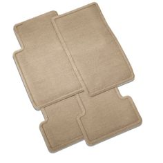 SRX Floor Mats, Front and Rear Replacements, Dune:These Front and Rear Carpet Replacement Floor Mats provide a factory fit for your SRX with a quality carpeted upper surface to help protect the floor from mud, water, road salt and dirt. Rubber Floor Mats, Car Mats, Car Floor Mats, Rubber Material, Rug Material, Carpet Replacement, Cadillac Srx, Quality Carpets