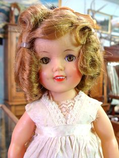 Sweet Ideal 1957 Shirley Temple Doll - For sale on Ruby Lane