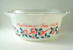 Christmas Promo: My goal this year is to find Christmas Pyrex...this one is on my list!