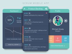 Scrum Mobile App