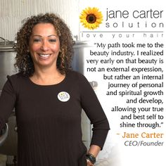Did you know... Jane Carter has been in the haircare industry for over 30 years?  Starting out as a salon owner in 1982, Jane went on to develop Jane Carter Solution in the early '90s