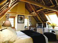 Rickety bridge Manor House - Franschhoek Rickety Bridge, Master Bedroom, Farmhouse, Cabin, Rustic, House Styles, South Africa, Furniture, Home Decor