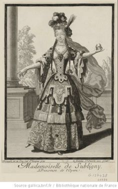 Marie Therese Subligny ab,1700