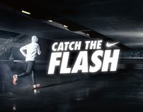 """Nike """"Catch the Flash"""" (Promotion) by Jacques Pense, via Behance"""