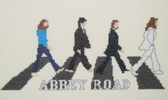 Borduren: Allerlei + Patroon ~The Beatles-Abbey Road~