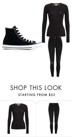 """""""Untitled #11"""" by mala-653 ❤ liked on Polyvore featuring Michael Kors, River Island and Converse"""
