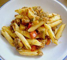Chefkoch.de Rezept: Mediterrane Nudelpfanne