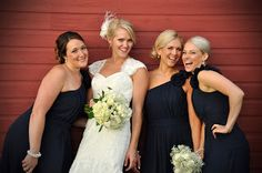 Here are some photos of the details from our wedding celebration in Wolfville, Nova Scotia. It was a rustic theme with a lot of baby's breat. Wedding Gowns, Our Wedding, Lace Wedding, Wedding Rustic, Wedding Ideas, Navy Bridesmaid Dresses, Mori Lee, Celebrity Weddings, I Dress