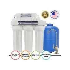 Aquatru Countertop Water Filter Purification System With Exclusive 4 Stage Ultra Reverse Water Filter Home Water Filtration Countertop Water Filter