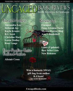 Uncaged Book Reviews  Issue 7, February 2017 Featured Authors: Alexandra Lee, Kayla Krantz, Christine Hart, Deborah Jay, B.J. Scott, Loren Molloy, Rose Lange and Alistair Cross.  Book reviews and more