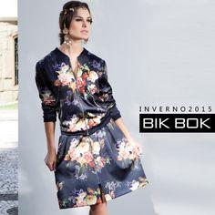 Look Dark Romance com estampas alegóricas é fantásticas do inverno 2015 #fashion #bikbok #tendência