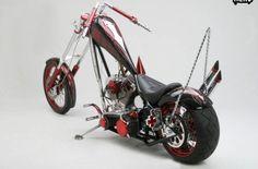 chopper , motorcycle