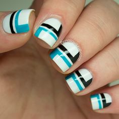 The Nailasaurus #nail #nails #nailart  | See more at http://www.nailsss.com/colorful-nail-designs/3/
