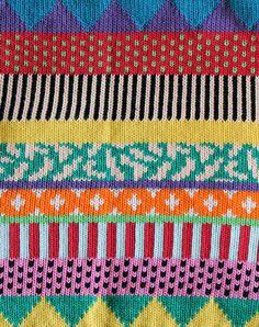~fair isle colourwork inspiration~   ALL Knitwear