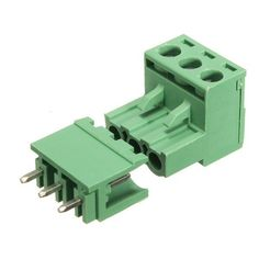 2edg 5.08mm Pitch 3pin Plug-in Screw Pcb Terminal Block Connector Right Angle. 2EDG 5.08mm Pitch 3Pin Plug-in Screw PCB Terminal Block Connector Right Angle  Features:  It is used in PCB for connecting power source or other wires. 90 degrees angle design, suitable for PCB space shortage or in need of using 90 degrees angle. Good insulating property, never worried about getting an electric shock, safe and reliable.  Specifications:  Product Name: Screw Terminal Block Model: 2EDGKA Pitch…