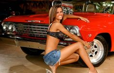 1962 Chevrolet Impala - 25 Photos of Hot Girls With Classic Cars | Complex