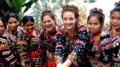 Tboli tribe Lake Sebu Mindanao Philippines women