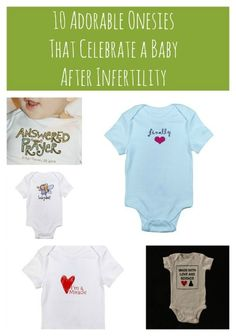 I pray that someday we will have the tremendous blessing of holding our little one wearing one of these...