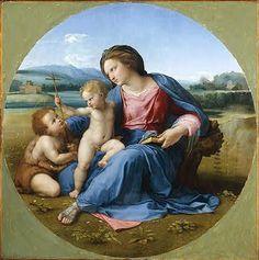 Raphael Raffaello Sanzio da Urbino (1483-1520) Alba Madonna c 1510
