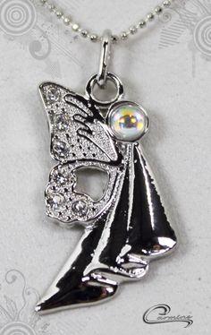 Pingente Dadala joias com significado - Joias em rodio (ouro branco)