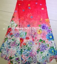 Free Shipping!! Wholesale price  5 yards   Latest Arrival of Unique Print Cupion Lace Design