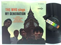 The Who: The Who Sings My Generation 1966 Decca Stereo Original LP #Vinyl Record