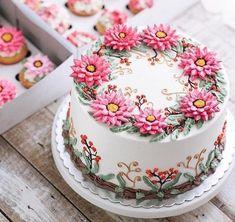 WONDERFUL CAKES - BOLOS LINDOS #flowercakes