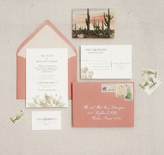 Obsessed with this vintage cactus invitation suite. Makes me wish we were having a desert wedding! Wedding Decor, Floral Wedding, Rustic Wedding, Cactus Wedding, Wedding Ideas, Wedding Venues, Wedding Programs, Wedding Ceremony, Destination Wedding