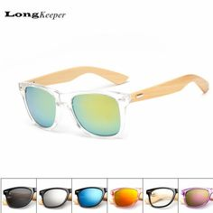 LongKeeper Bamboo Foot Sunglasses Men Women Wooden Sunglasses Brand Designer Original Wood Sun Glasses Factory Wholesale Price