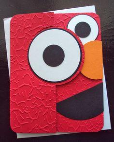 Elmo #card #SesameStreet