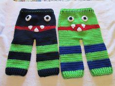 Monster Butt Pants Set