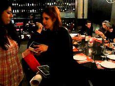 Consegna nomination a Nathalie!  15/05/2011 (Roma)