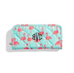 Soft quilted wallet zips around and opens accordion style to reveal five open pockets, four open card slots, and a zippered center coin pouch. x x Quilted Microfiber. Initials Inc, Sunglasses Case, Zip Around Wallet, Aqua, Pouch, Cards, Sign, Pockets, Style