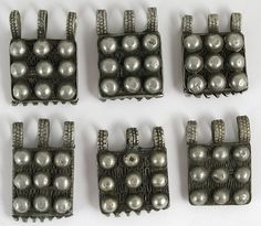 Old Coin Silver Amulets | Gurage People of Ethiopia