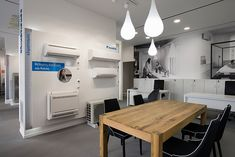 Daikin Hellas's new retail concept was conceived through a creative problem solving process & strategic analysis, yielding a unique retail experience Retail Concepts, Retail Experience, Group, Store, Home Decor, Decoration Home, Room Decor, Larger, Home Interior Design