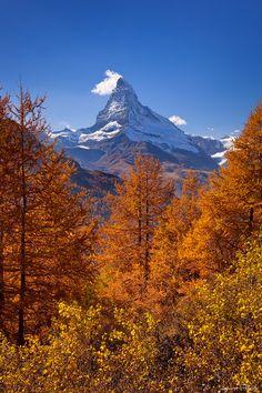 Fall in Switzerland by Andreas Resch on 500px / MATTERHORN