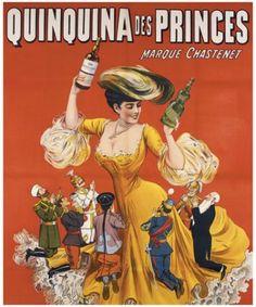 Quinquina des princes,vintage poster G80284 , Vintage Poster Market : Online Beverages Posters & art illustrations, old reproduction