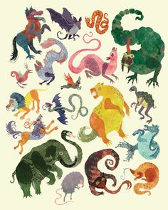 Cryptids Children's Book  - artwork by Kyla Kemmerer | #illustration