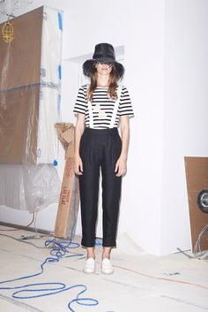 Band of Outsiders Spring 2015 Ready-to-Wear - Collection - Gallery - Look 1 - Style.com