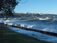 Qualicum Beach (Vancouver Island) ~ on a sunny & windy winter day! Best Places To Travel, Great Places, Places To See, Vancouver City, Vancouver Island, West Coast Fishing, West Coast Weather, West Coast Road Trip, Camping Activities