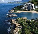 JW Marriott in Ko Olina area northwest of Honolulu... the beauty of Oahu minus the crowds of Waikiki.