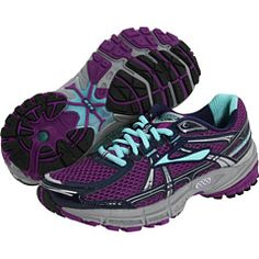 my running shoes! Brooks Adrenaline.