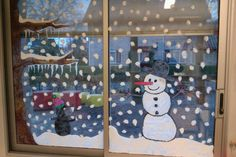 Yahoo Recherche d'images Christmas Window Decorations, Christmas Window Display, School Decorations, Winter Fun, Winter Christmas, Winter Painting, Painting For Kids, Christmas Projects, Christmas Crafts