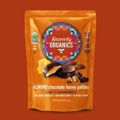 heavenly organics - In addition to being a producer of Organic Raw Honey, Heavenly Organics also specializes in creating sweet snacks. Ginger Chocolate, Organic Chocolate, Almond Chocolate, White Honey, Ginger And Honey, Organic Raw Honey, Ginger Extract, Chocolate Shells, Cocoa
