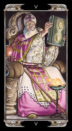 The Hierophant - Ludy Lescot Tarot Find out what the Hierophant means for you: www.tarotbyemail.com