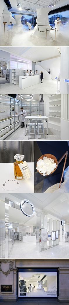 Fragrance Lab installation by Campaign, The Future Laboratory, Selfridges and Givaudan, London » Retail Design Blog